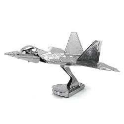 Металлический 3D-пазл Самолет F-22