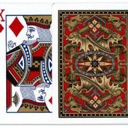 Покерные карты Bicycle Dragon Back (Золотые)