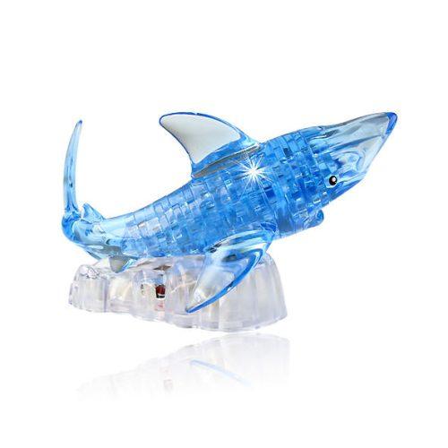3D Crystall Puzzle Shark