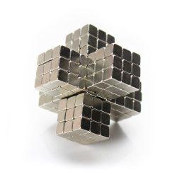 Тетракуб неокуб из кубиков 5 мм никель