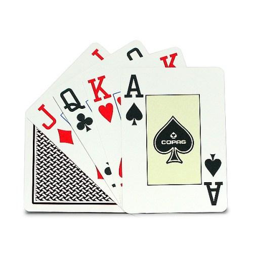 Покерные карты Copag Texas Hold Em Poker Jumbo Index