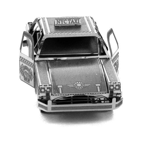 3D пазл металлический Такси Checker Сab
