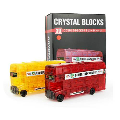 3D Crystall Puzzle Автобус