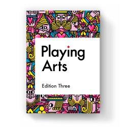 Дизайнерские карты Playing Arts Edition Three