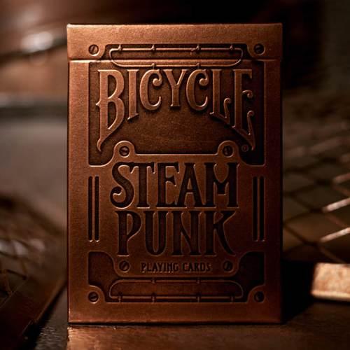 Карты Bicycle Steampunk Gold Золотые