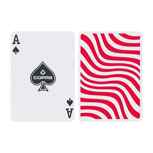 Карты покерные Copag Neo Deck Stripes красные