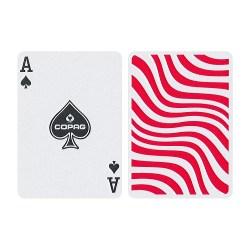Карты покерные Copag Neo Deck Stripes (красные)