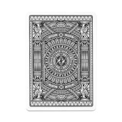 Покерные карты Hudson Black