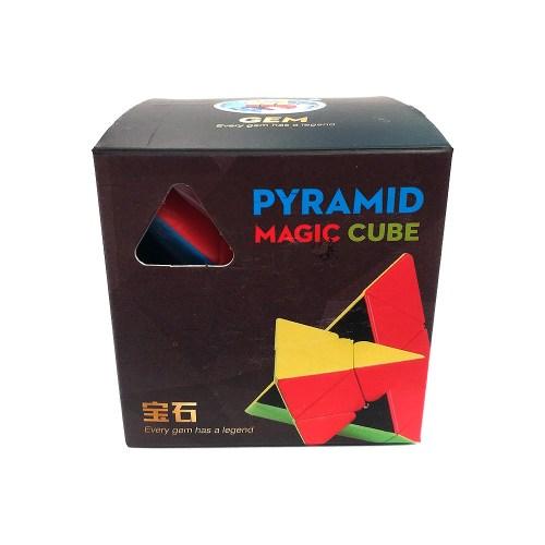 Пирамидка 3x3 ShengShou Gem Цветная