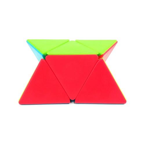 Пирамидка 2x2 QiYi Pyraminx Цветная