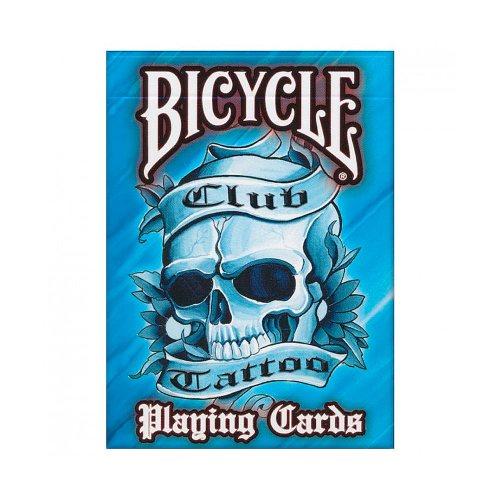 Покерные карты Bicycle Club Tattoo Синие