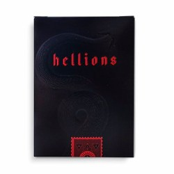 Покерные карты The Madison Hellions Black (Ellusionist)