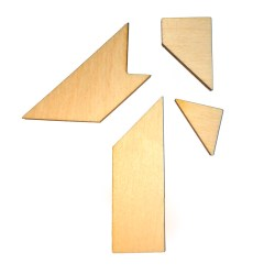 Геометрическая мини-головоломка Тешка