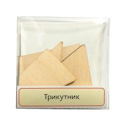 Головоломка деревянная Треугольник