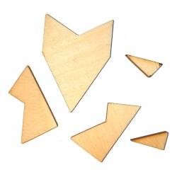 Геометрическая мини-головоломка Звезда