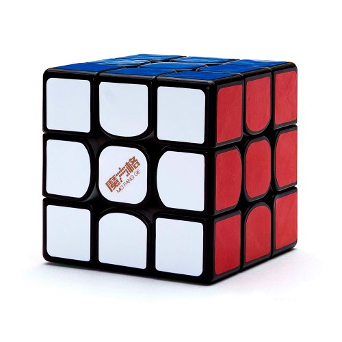 Кубик Рубика 3x3 QiYi Thunderclap v3 M Чёрный