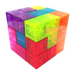 Кубики Сома Xinbada магнитные прозрачные