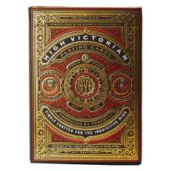 Покерные карты High Victorian Red (theory11)