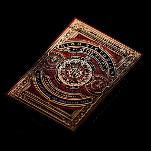 Покерные карты High Victorian Red theory11