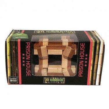 Головоломка бамбуковая Prison House