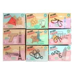 Коллекция из 9 карманных головоломок