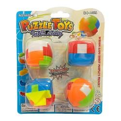 Набор Puzzle Toys из 4 разборных головоломок
