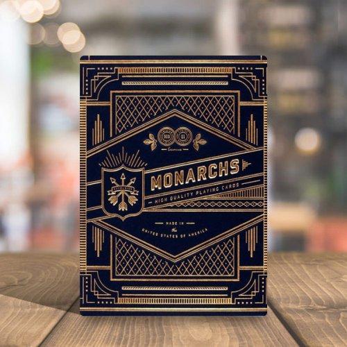 Покерные карты Monarchs Blue (Theory11)