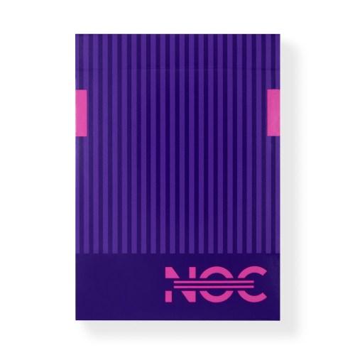 Покерные карты NOC3000X2: Purple