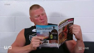 Image result for brock lesnar reading