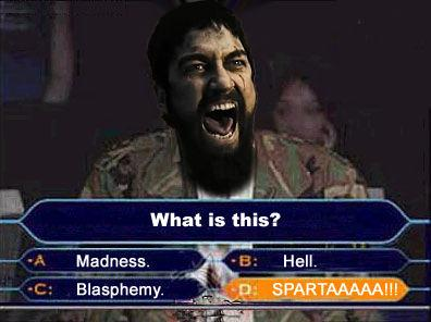 Image result for this is sparta meme