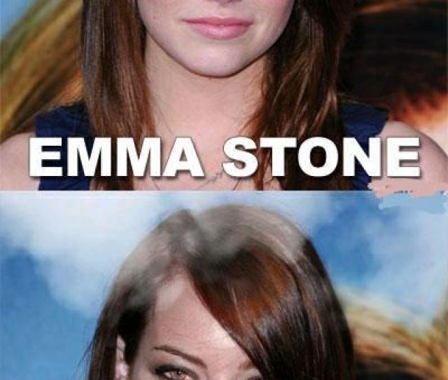 Emma Stone Emma Stoned Emma Stone Jennifer Lawrence Hair Face Nose Eyebrow Chin Human Hair Color