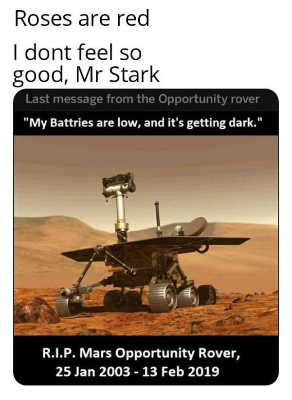 Mars Exploration   Know Your Meme