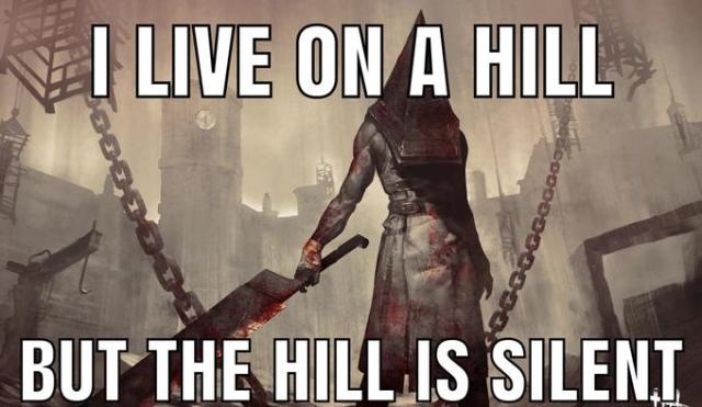 I LIVE ON A HILL BUT THE HILL IS SILENT కంలలలెలి Dead by Daylight Pyramid Head Action-adventure game Games