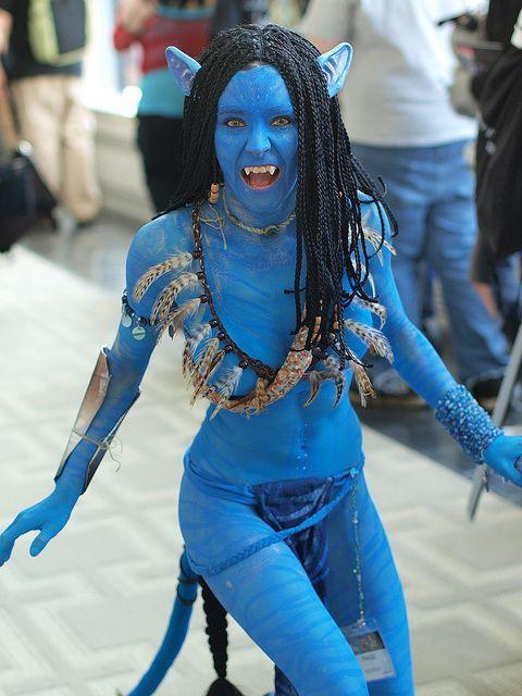 Blue Costume Cosplay Fashion