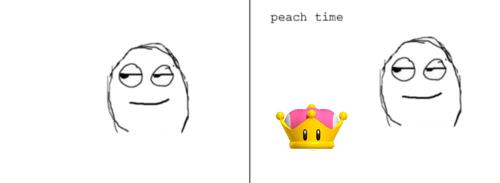 peach time Smile Gesture Happy Art Cartoon Font
