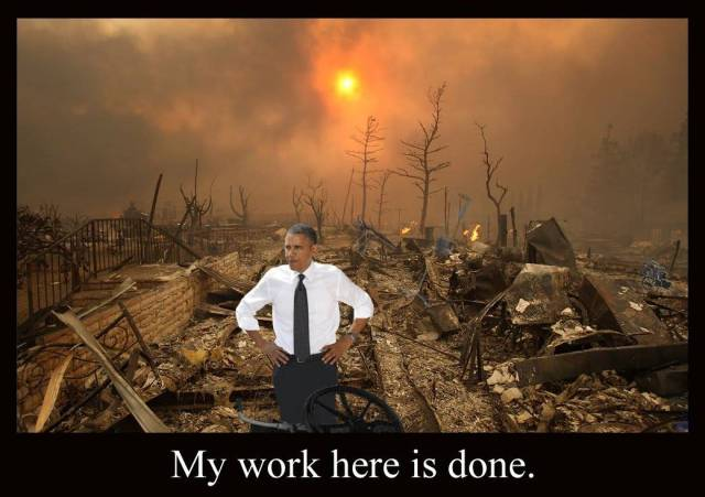 Image result for Obama my job is done here