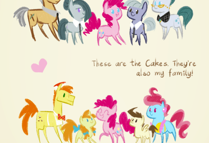 Two Families My Little Pony Friendship Is Magic Know Your Meme