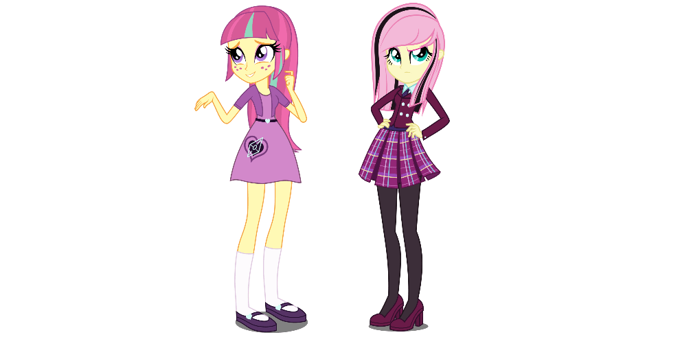 Sour Sweet And Fluttershy My Little Pony Equestria Girls Know Your Meme