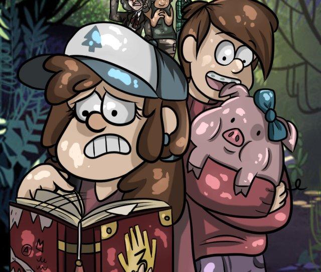 Grunkle Stan Dipper Pines Mabel Pines Mammal Cartoon Vertebrate Art Human Behavior Fictional Character