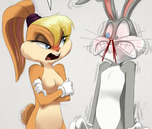 The Looney Tunes Lola Bunny And Bugs Bunny By Silent Sid
