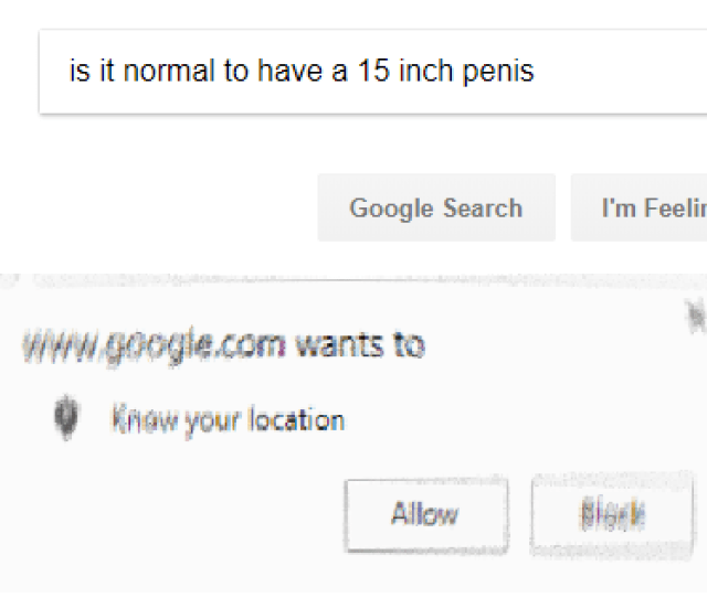 Is It Normal To Have A  Inch Penis Google Search Im Feeling Wwwgoogie