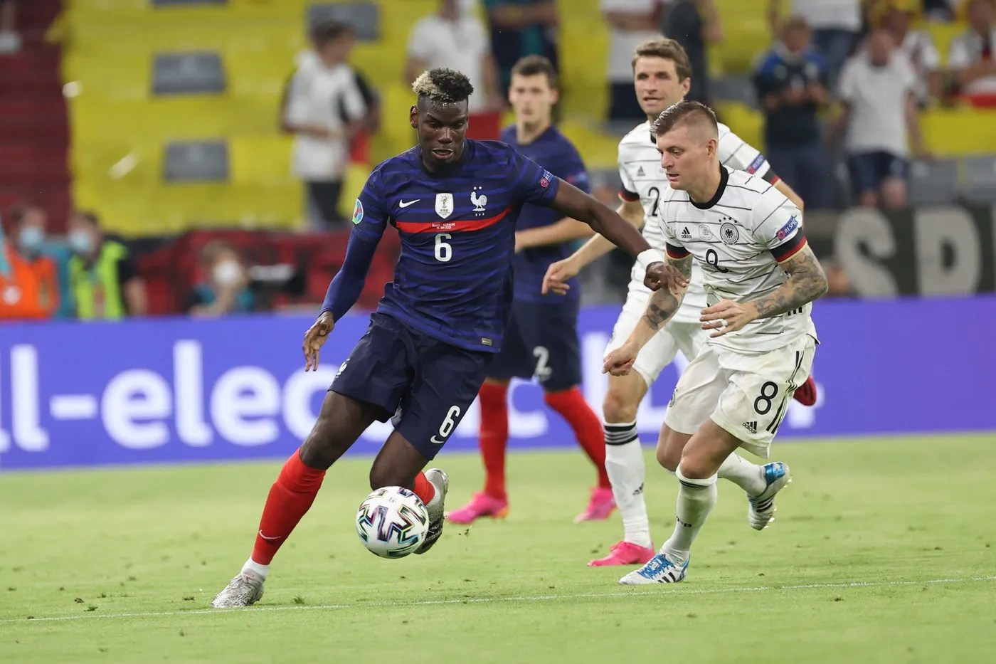 Euro 2021: France dominates Germany with a burning Pogba and an iron  defense - Eronid.com