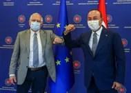 In Ankara, Brussels arbiter of Franco-Turkish tensions
