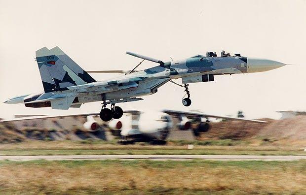 Су-27 ВВС Эритреи