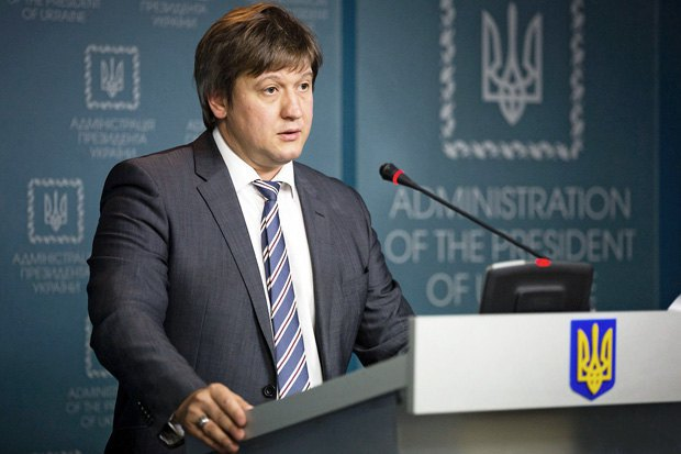 Глава Министерства финансов Александр Данилюк