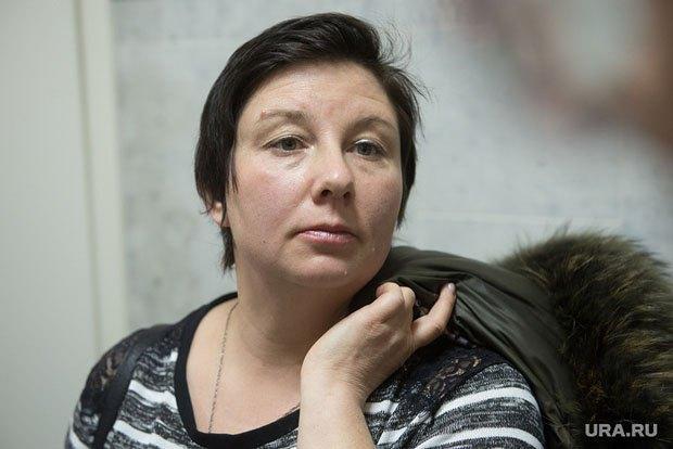 Екатерина Вологженинова во время суда