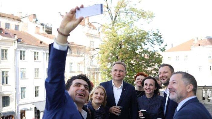 Мер Львова зустрівся з учасниками Конгресу культури «Перехід 1989»