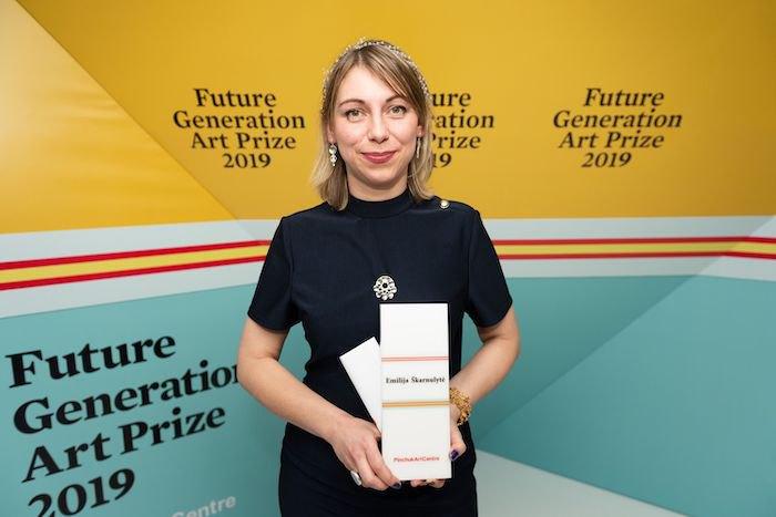 Переможниця конкурсу Future Generation Art Prize 2019 Емілія Шкарнуліте