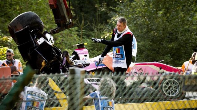 French car driver Anthoine Hubert