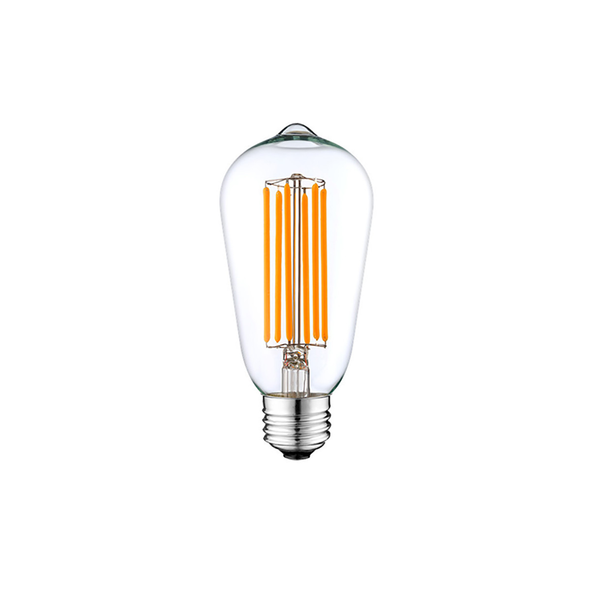 6w Filament Led T Shape Light Bulb Light St48 Chandelier Bulb With E26 Base 60w Equivalent